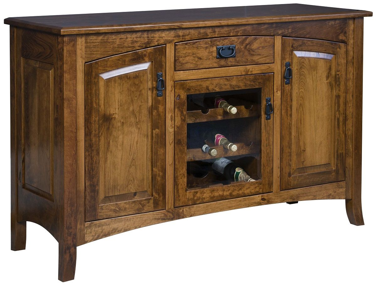 Mountain Park Sideboard with Wine Rack