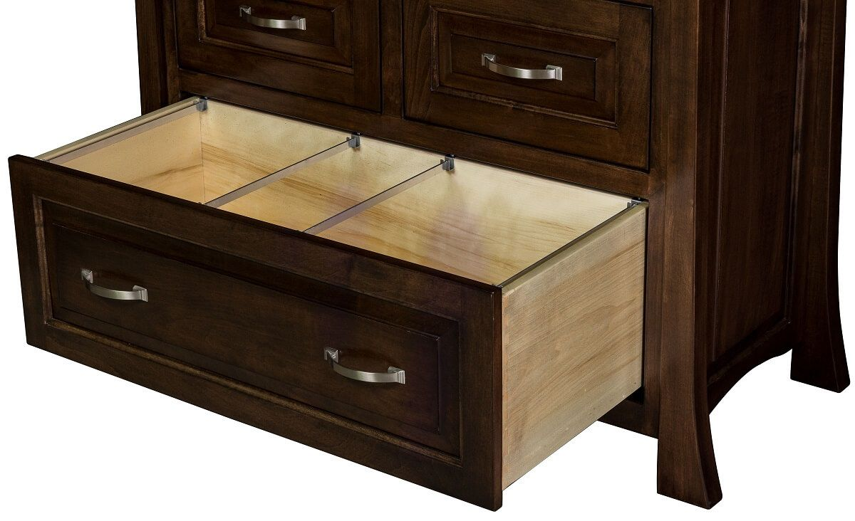 Double File Drawer in Office Desk