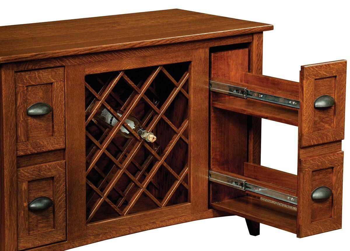 Wine Storage Dining Buffet