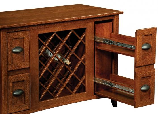 Wine Storage Dining Buffet