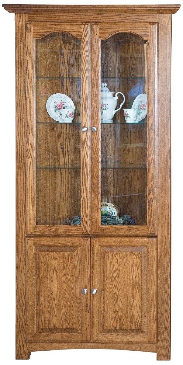 Mathis Corner Curio Cabinet