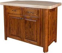 Rugby Butcher Block Island
