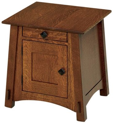 Sebastian McCoy End Table with Storage