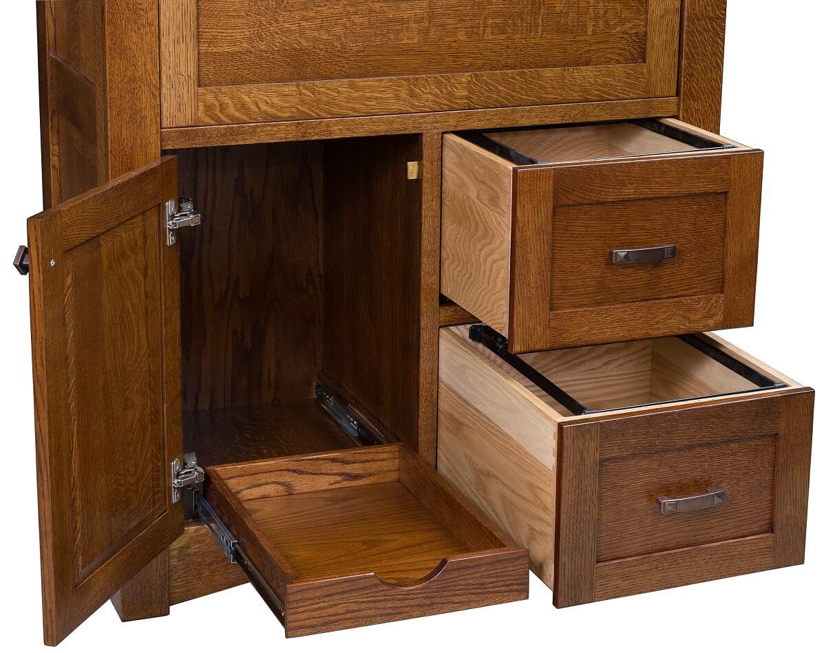 Full Extension File Desk Drawers