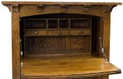 Quartersawn White Oak Secretary Desk