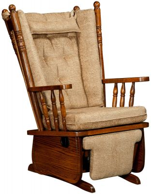 Bendon Fabric Glider Recliner Countryside Amish Furniture