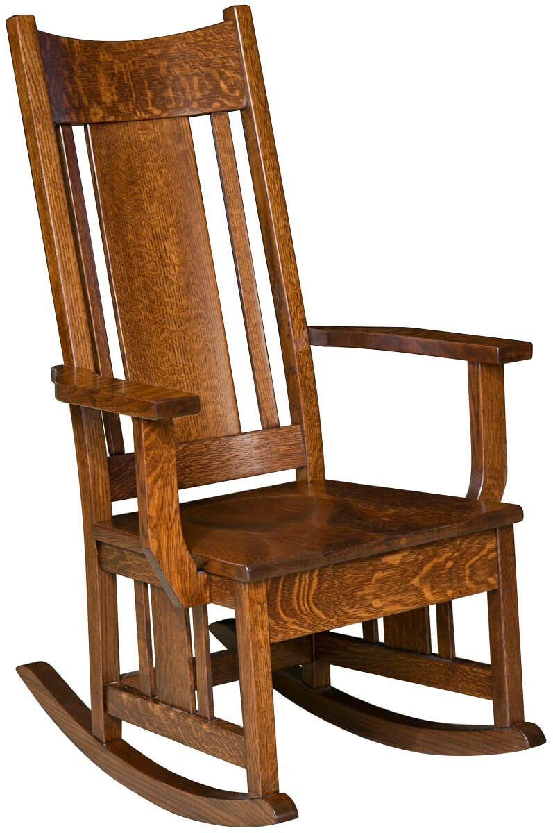 Quartersawn White Oak Rocking Chair