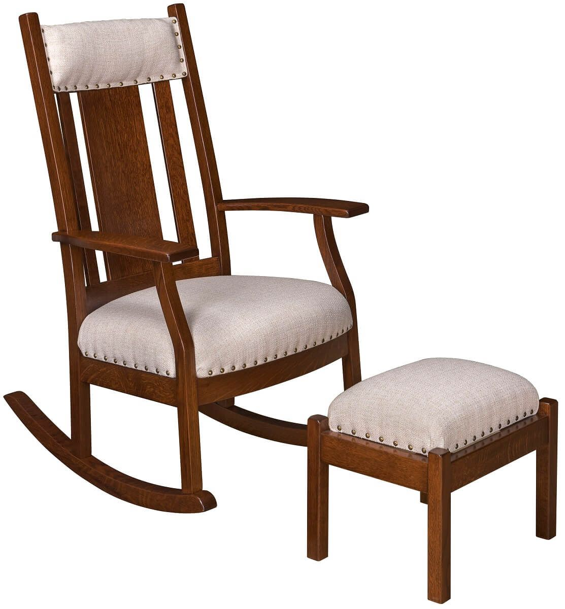 Eland Rocker and Ottoman