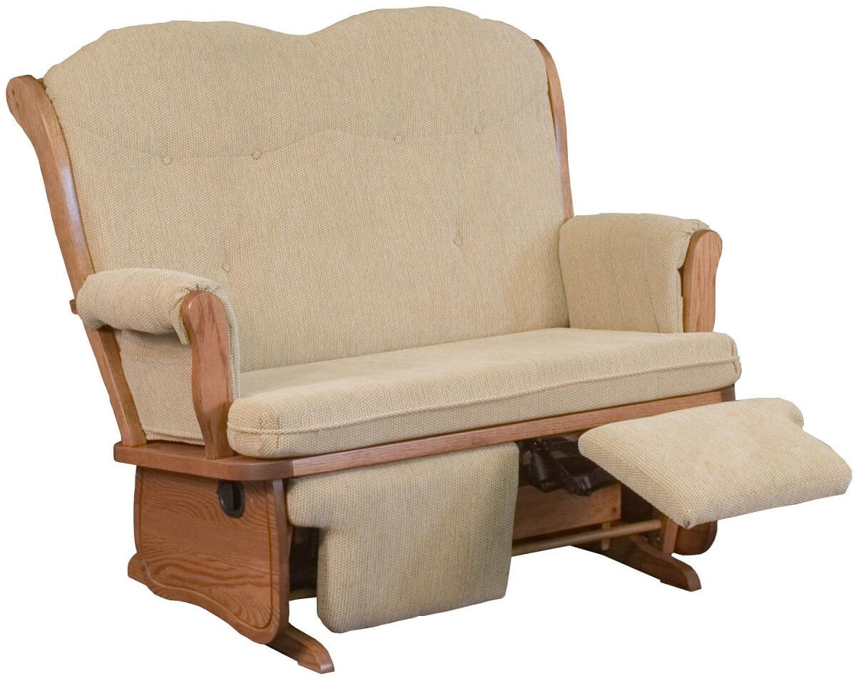 Kiana Upholstered Loveseat Recliner