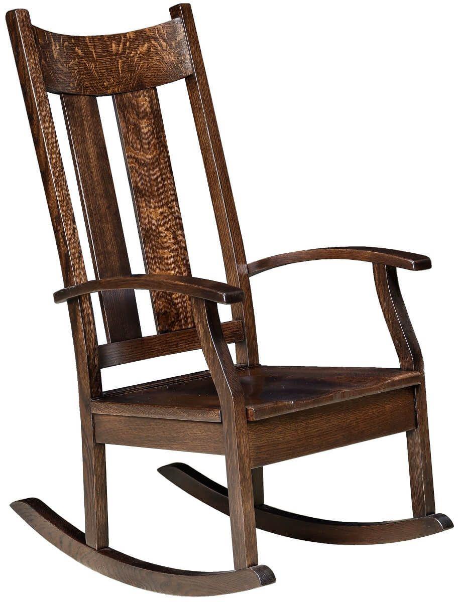 Hardwood Amish Rocking Chair