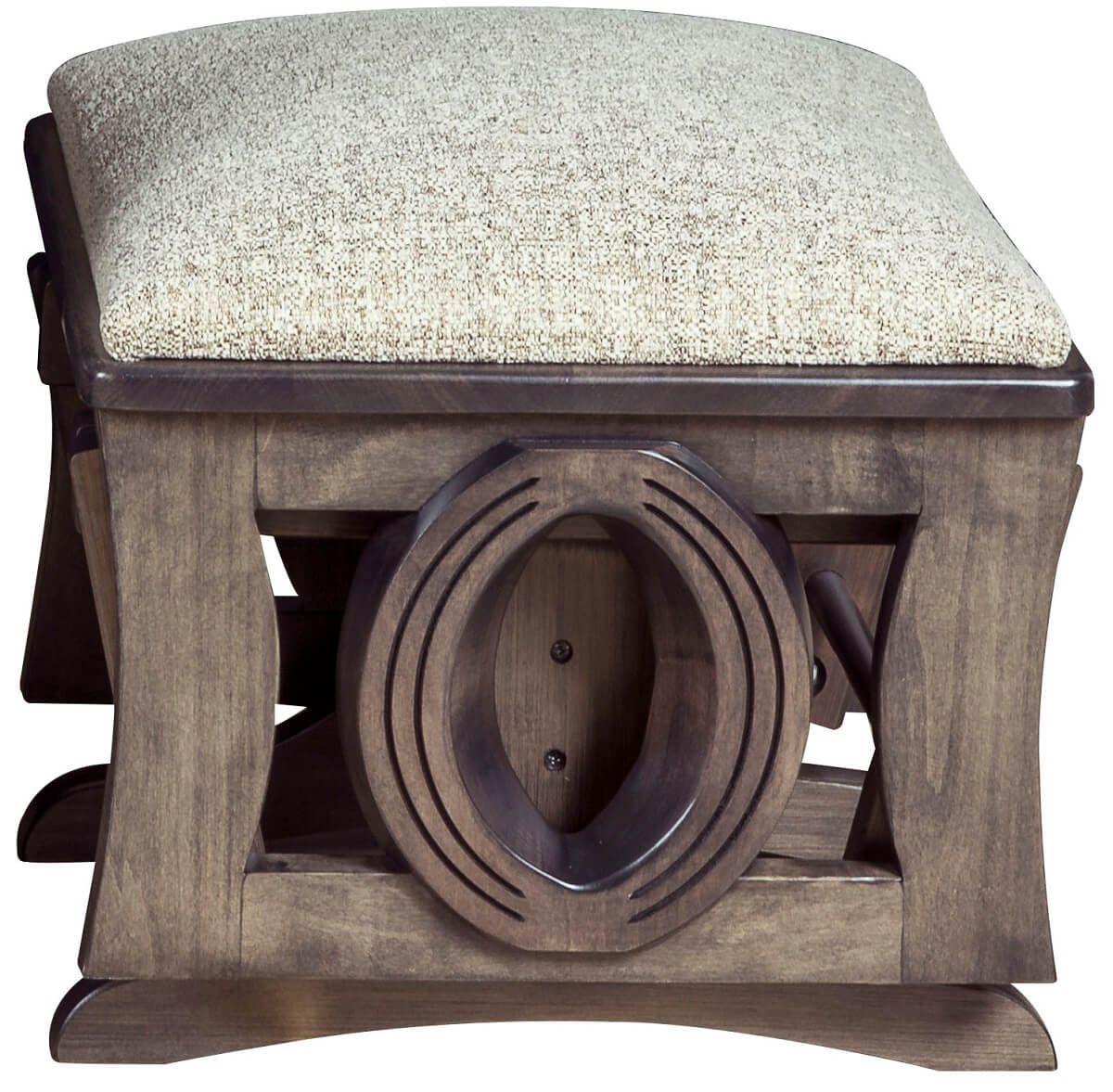 Modern Upholstered Footrest