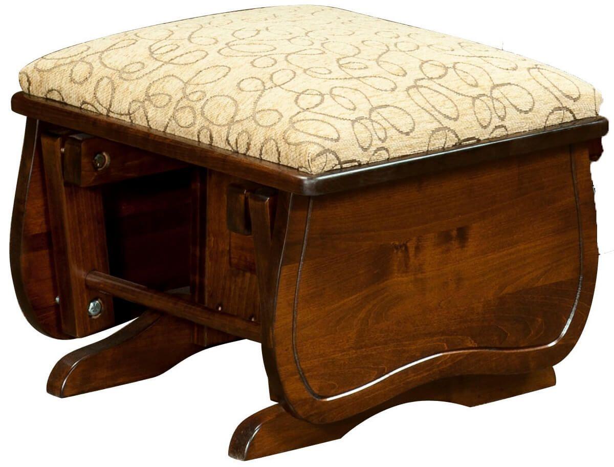 Upholstered Glider Ottoman