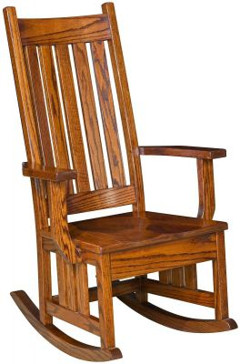 Pomona Wooden Rocker