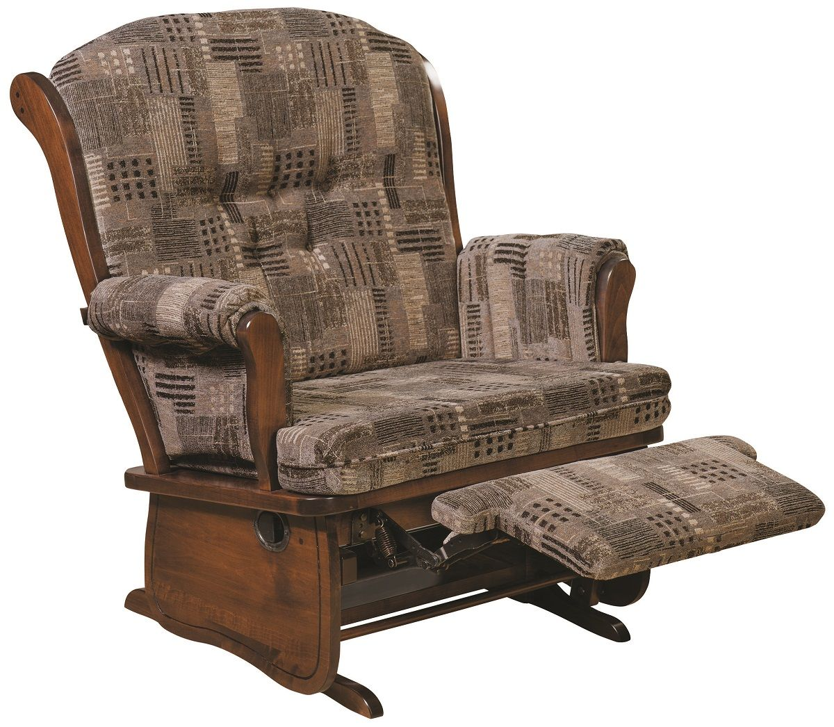 Keyport Hardwood Chair and a Half