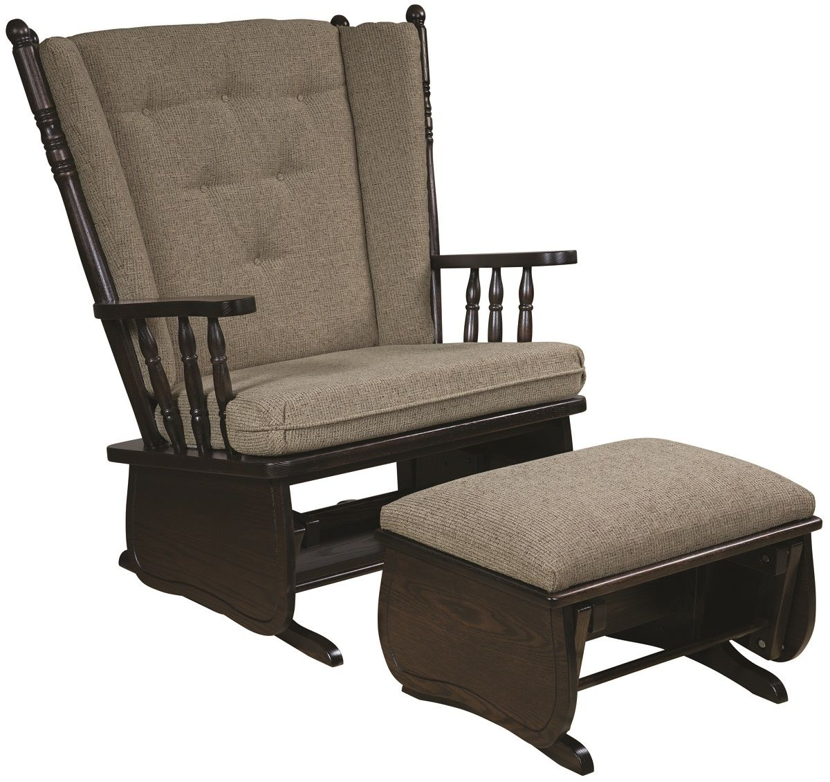 Leopolis Chair and a Half and Ottoman