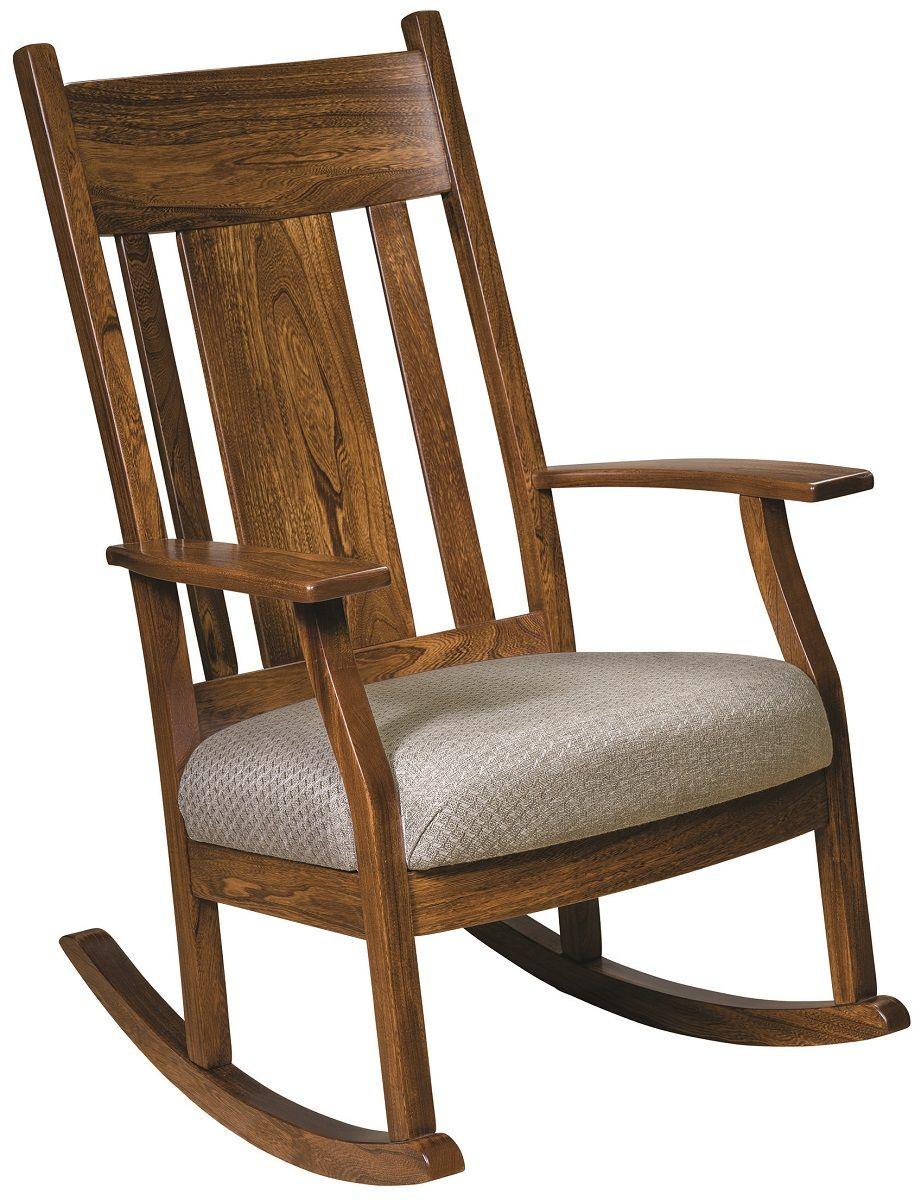 Elm Rocking Chair