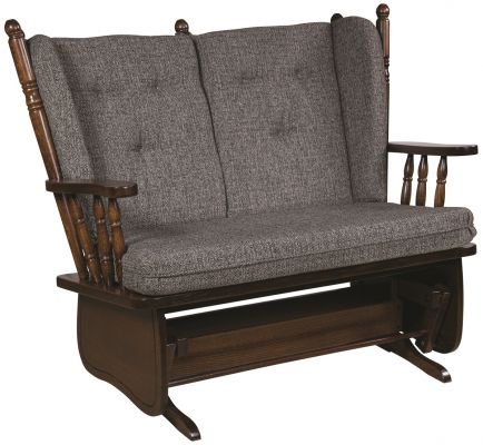4-Post Loveseat Glider