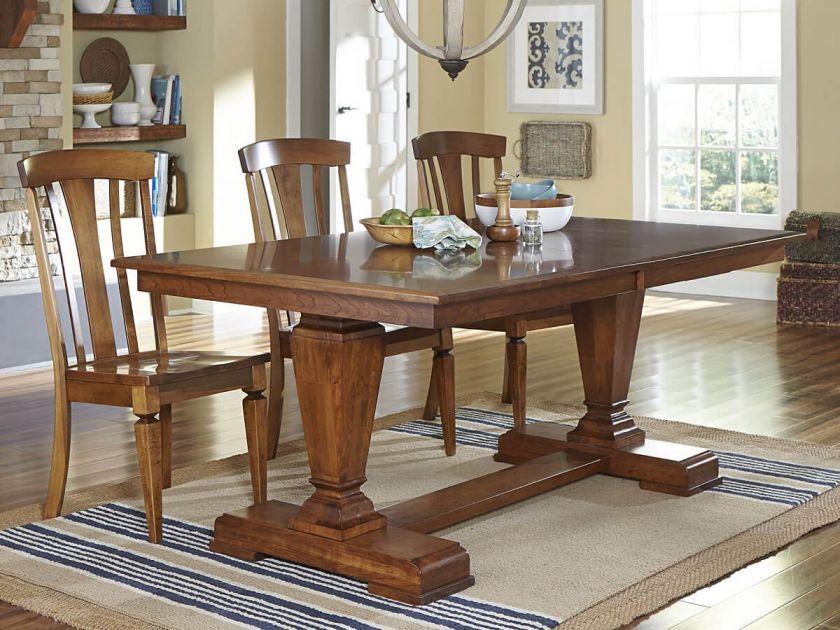 Alder Glen Dining Room Set Countryside Amish Furniture