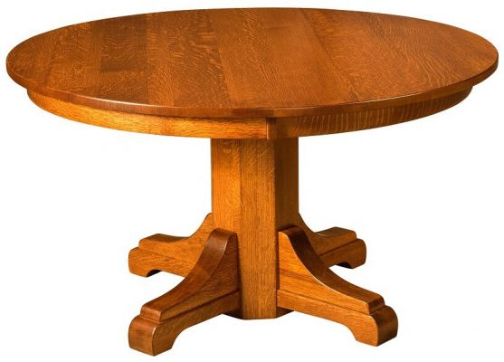 Cachoeira Split Single Pedestal Table