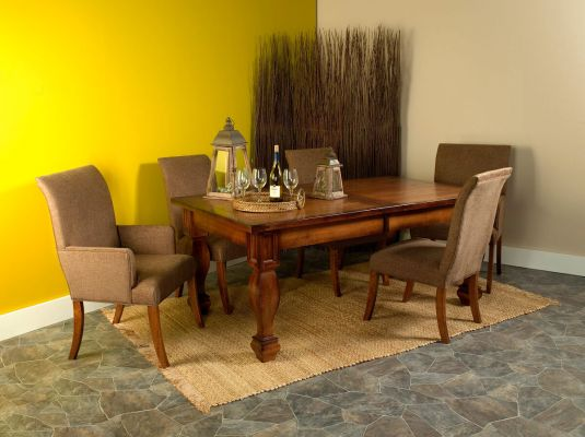 Shown with Cana Valley Plank Top Table