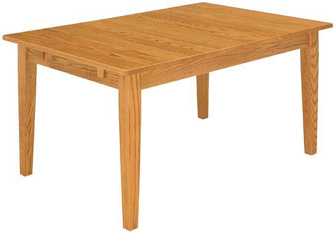 Lonoke Place Leg Table in Oak