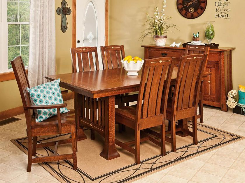 Arts And Crafts Dining Table And Chairs: Arts & Crafts Furniture