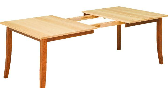 Alvar Shaker Dining Table Open