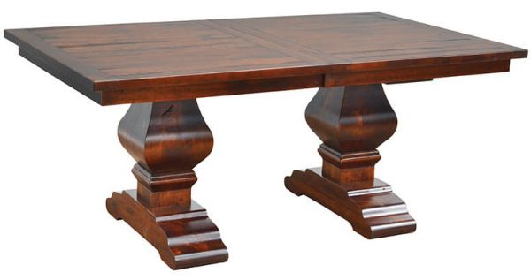 Chestnut Street Double Pedestal Table