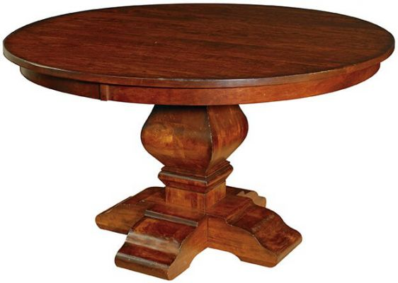 Chestnut Street Single Pedestal Table