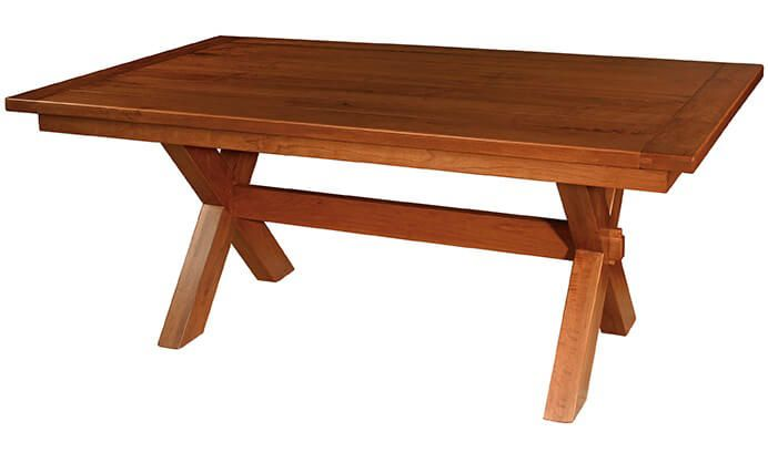 Contra Costa Plank Top Table in Cherry
