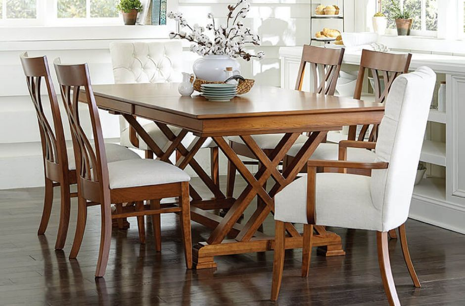 Crown Point Modern Farmhouse Dining Set Countryside