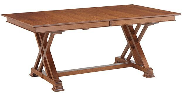 Crown Point Trestle Table