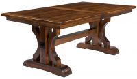 Dedon Trestle Dining Table