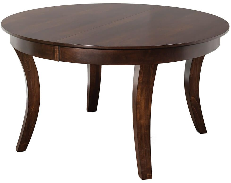 Florida Avenue Round Cherry Dining Table