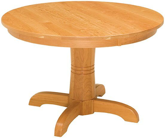 Hollowell Round Dining Table in Cherry