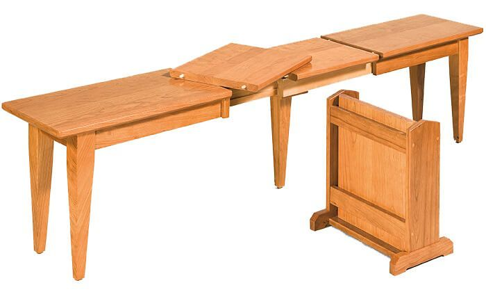 Mt. Laurel Dining Bench in Cherry