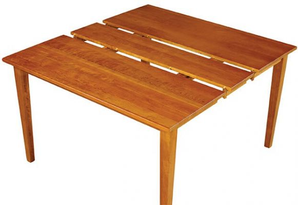 Oavalu Bar Height Table with Leaf