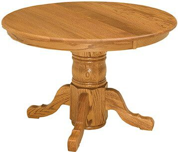 Richmond Hill Split Pedestal Dining Table