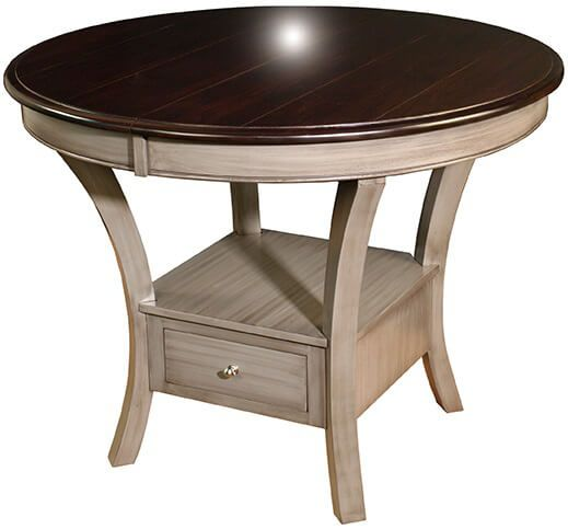 Rogaska Bar Height Butterfly Table - Countryside Amish Furniture