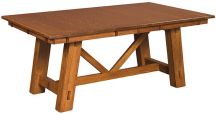 Solid Wood Mission Style Dining Table