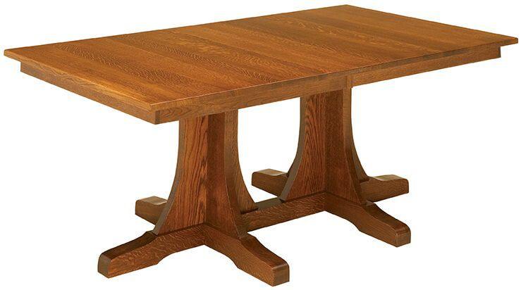 Springer Mountain Double Pedestal Table