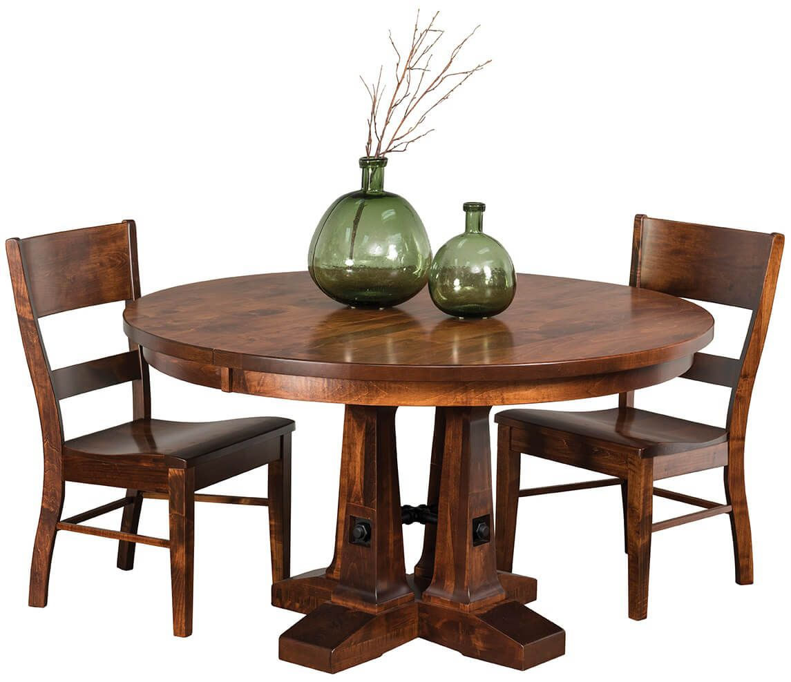Shown with Walker's Point Pedestal Table