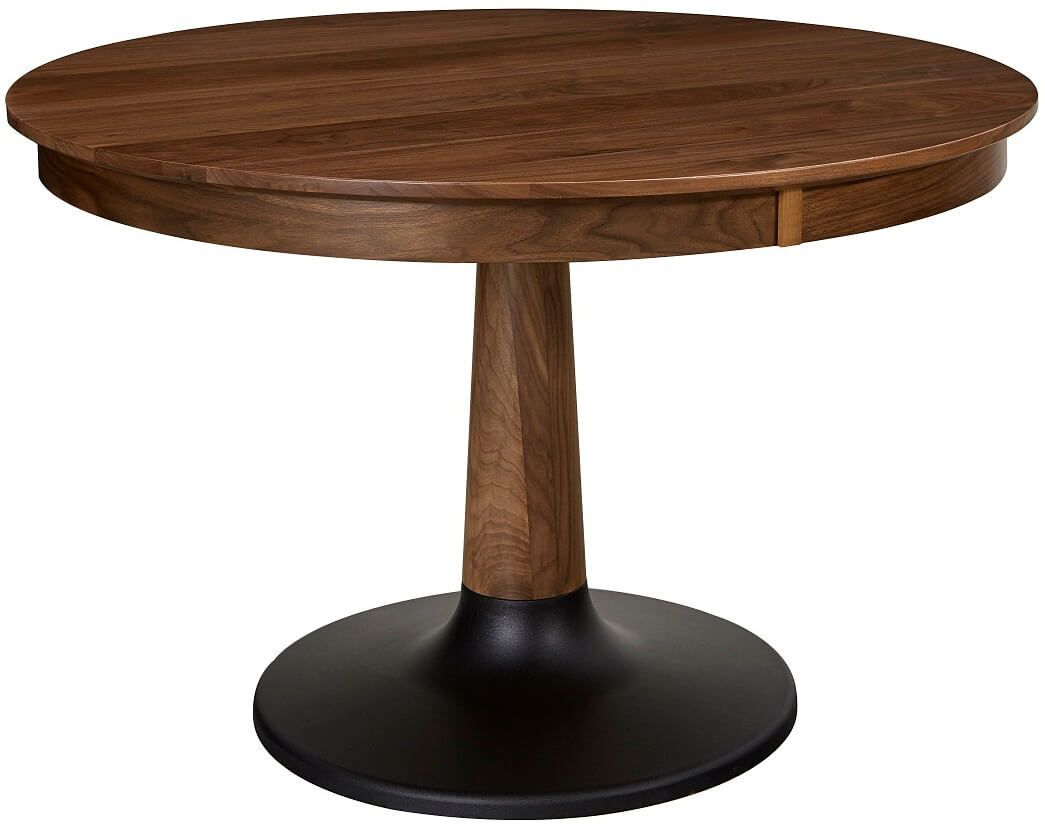 Alstead Round Table with Black Base
