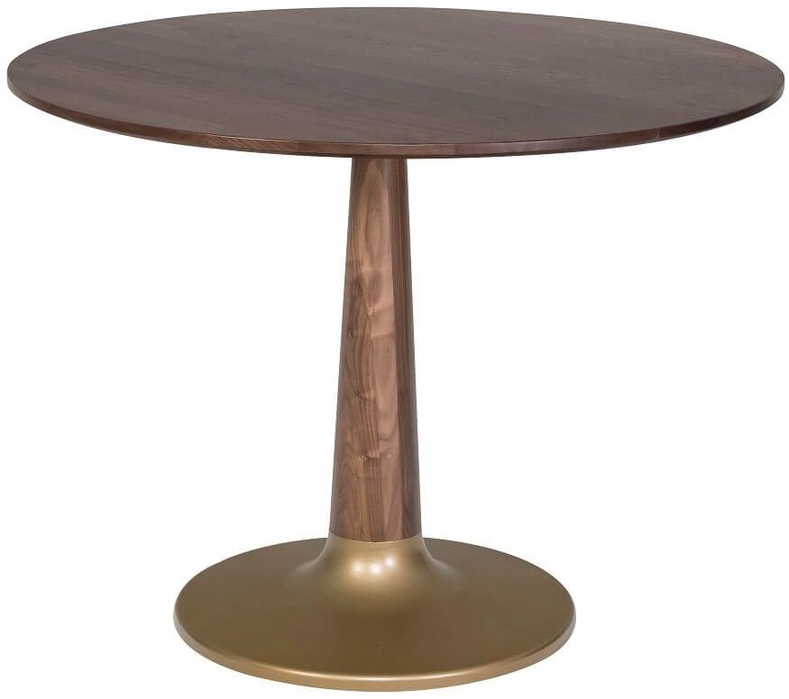 Alstead Round Table with Gold Base
