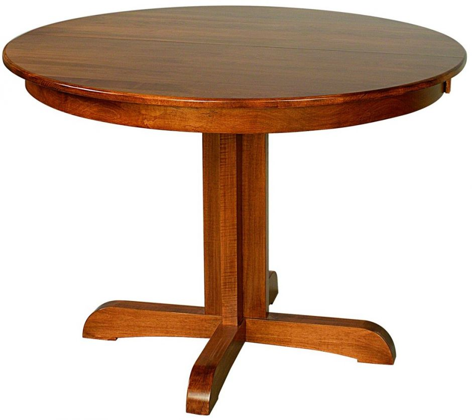 austin pedestal dining table