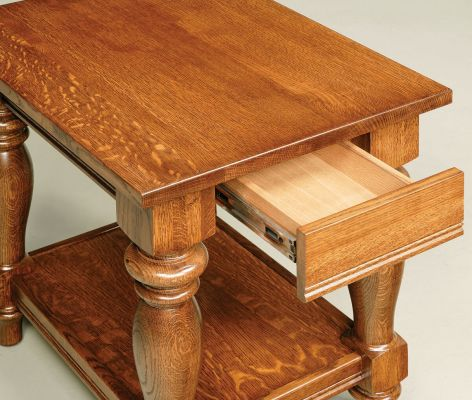 Full Extension Hidden Table Drawer