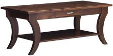 Hamden Coffee Table in Brown Maple