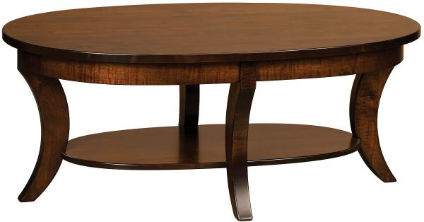 L'Arpege Oval Coffee Table