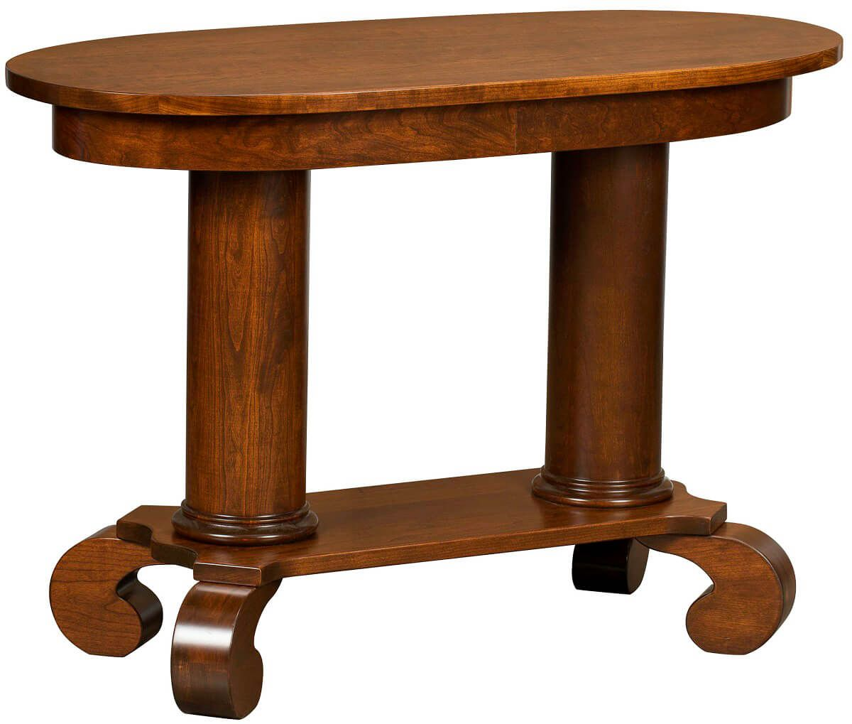Lowell Cherry Sofa Table