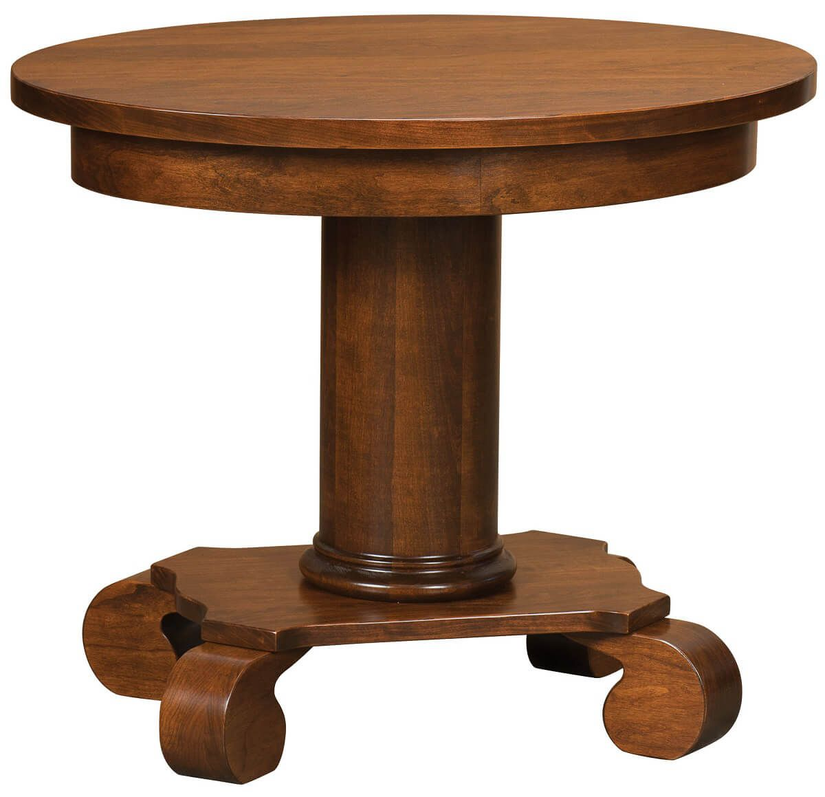 Oval Lowell End Table